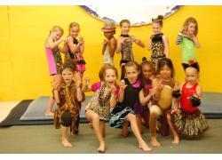 open gym munchkins dressed up