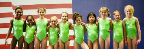Girls School Age Gymnastics Classes