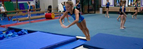 Coed Tumbling and Trampoline Classes